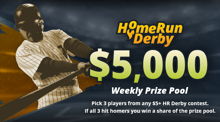 Play the $5000 Home Run Derby on Friday, June 18