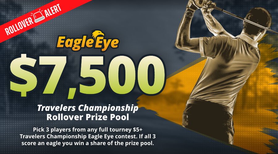 Play the $7500 Eagle Eye Contest for the Travelers Championship